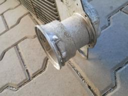 chladič vzduchu - příruba, po opravě