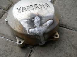 víko YAMAHA po opravě