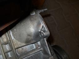 motor VW příprava