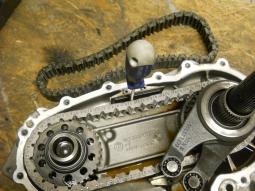 rozvodovka/VTG/ BMW - nový řetěz