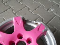disk před opravou